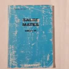 KOMATSU Sales Mate Edition 16 HESM0016