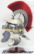 Roman Centurion Helmet Medieval Knight Armor Collectible Costume Spartan WEDK85