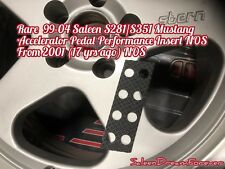 RARE 99-04 SALEEN S281 S351 MUSTANG ACCELERATOR PEDAL PERFORM INSERT NOS GT FORD