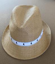 Janie And Jack Straw Fedora Hat