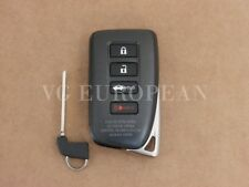 Lexus Genuine IS200T Smart Key Fob Transmitter Assembly With Key 2016-2017 NEW