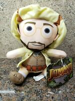 NEW Jumanji Prof. Sheldon Shelly Oberon Plush Toy Doll Figure Jack Black Movie