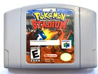 **Authentic! - Pokemon Stadium - Nintendo 64 N64 Game - Tested - Working!**