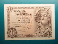 BILLETE DE 1 PESETA DE 1948