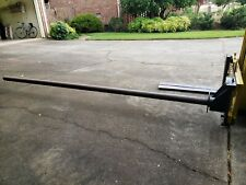 Forklift carpet pole L 12', W 3""