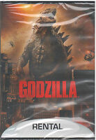 GODZILLA (DVD, 2014, Rental Eclusive) NEW