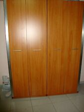 4 Doors Wood Wardrobe