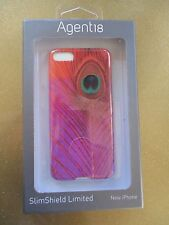 NEW Agent18 iPhone 5 5S Hard SNAP Case Cover Single Piece Peacock Feather Pink