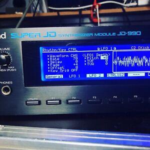 Roland JD-990 BRAND NEW LED Screen Display!! JD990 !! LOW PRICE!! Next 3 Days
