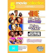 5 DVD PACK JOHN TUCKER BOGUS JOURNEY DRIVE ME CRAZY JOSIE PUSSYCATS SLEEPOVER