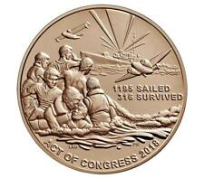 Uss Indianapolis Wwii Bronze Medal 1.5 Inch Us Mint See Price Increase Notice