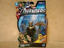 Hasbro Marvel Avengers Cosmic Spear Loki Figure Movie Series NIP