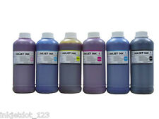 Bulk refill ink set 6x500ml for EPSON printer cartridge