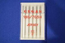 Organ Sewing Machine Needles JERSEY SIZE 60/8 5 Needles