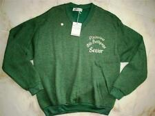 VINTAGE 1980's PLAINVIEW OLD BETHPAGE High School SENIOR Sweater~Long Island NY