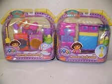 MATTEL DORA THE EXPLORER DORA MAGICAL WELCOME HOUSE FURNITURE SET OF 2  NEW
