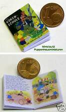 1110# Miniatur Bilderbuch - Kükenschule - Puppenhaus - Puppenstube - M 1zu12