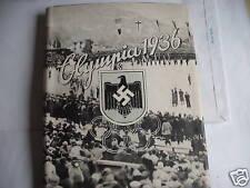 OLYMPIA 1936.SPORT INVERNALI album  figurine in tedesco