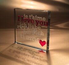 Spaceform I Love You Valentines Romantic Love Gift Ideas For Her & Him 0823