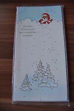 5 Stück verschiedene Weihnachtskarten Grußkarten Klappkarten (2)