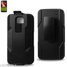 Reiko LG G2 Premium Heavy Duty Drop Proof Hybrid Holster Combo Case w/ Belt Clip