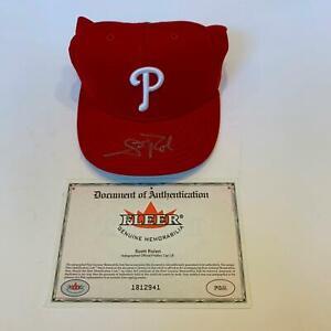 Scott Rolen Signed Autographed Philadelphia Phillies Hat Cap Fleer COA