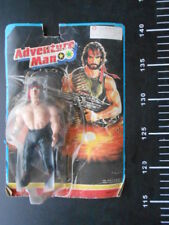 VINTAGE ADVENTURE MAN ACTION FIGURE RAMBO GALAXY Cheap WARRIORS STALLONE Rare