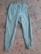 Women's TOPO DESIGN teal nylon pants Sz. XS
