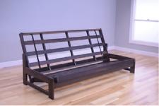 """Kodiak full 76"""" Aspen futon frame, reclaimed mocha.  Mattress NOT included"""