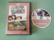 Y TU MAMA TAMBIEN ALFONSO CUARON MARIBEL VERDU DIEGO LUNA DVD ESPAÑOL