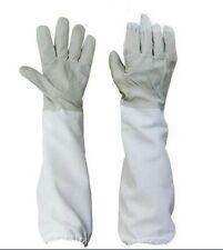Large Beekeeping Gloves Goatskin Bee Keeping With Vented Beekeeper Long Sleeves