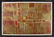 Brian Bysouth 1936 London / Farb - Komposition / Gemälde im Rahmen / 1964