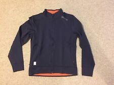 SKINS Men's Running Athletic jacket Size: M / Color: Blueish purple/ orange