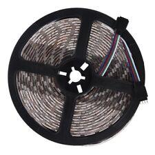 RGB 5050 SMD 5M 300 LED RGB Lumiere de bande Impermeable 12V + 24 Touche te Z6L1