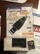 Microtech Memory Stick Card Reader And Writer (DM-8600) zio compactflash