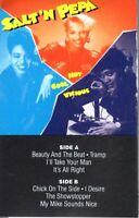 Salt N Pepa Hot, Cool & Vicious Push It Remix 1987 Cassette Tape Album Hiphop