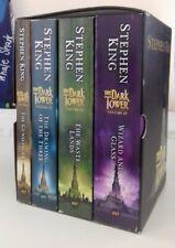 STEPHEN KING THE DARK TOWER BOOKS BOX SET Vols 1-4 I-IV & Wolves of the Calla