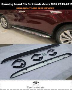 Fits for Honda Acura MDX 2015-2017 2018 2019 running board side step nerf bar