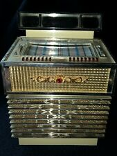 vintage JUKEBOX WORKING Juke Box Bank Transistor AM Radio Jewelry Box