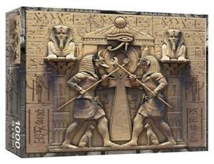 WSH - Egyptian Gods - 1000 piece jigsaw, artwork by David Penfound