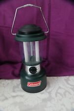 Coleman Battery Powered Dual Fluorescent Bulb Lantern #5344-700 Tested
