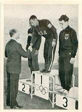 Mal Whitfield USA Prince Axel of Denmark Olympic Games 1952 CARD IMAGE 50s