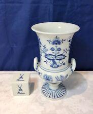 Meissen Zwiebelmuster Vase - 50761 /800101 - Cipolla Blu Vaso cm 19,5 NEW