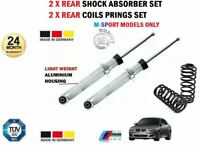 2X REAR SHOCK ABSORBERS + SPRINGS SET for BMW 5 M-SPORT (E60) 520d 2005-2010