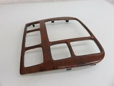 00-02 MERCEDES W220 S600 S55 AMG DASH RADIO COMAND WOOD TRIM OEM