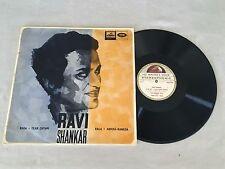 RAVI SHANKAR RAGA TILKA-SHYAM ABHOGI KANADA RARE AUSTRALIAN HMV RELEASE LP