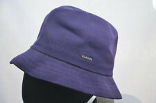 KANGOL TROPIC PLAYER PURPLE TRILBY HAT 6371BC MENS CAP SMALL 55cm NEW NWT