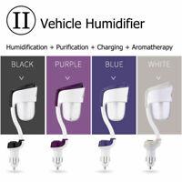 Humidificador Perfumado de Coche Humidificador USB de Coche Purificad 4 colors
