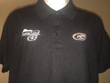 MED Richard Petty Motorsports 43 FARMLAND Almirola Pit Crew Polo Team Shirt FORD