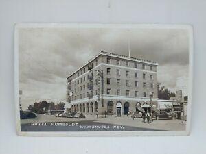 Vintage 1943 Hotel Humboldt Winnemucca Nevada Postcard